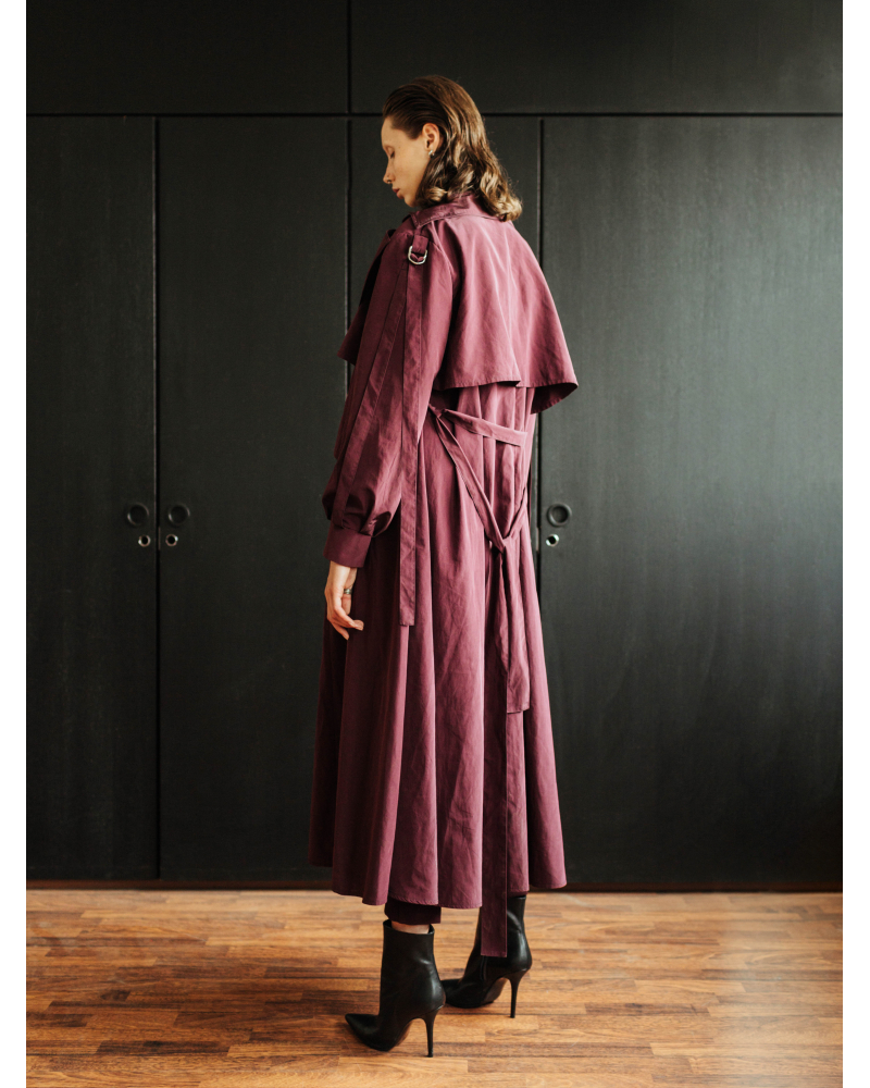 BORDEAUX TRENCHCOAT