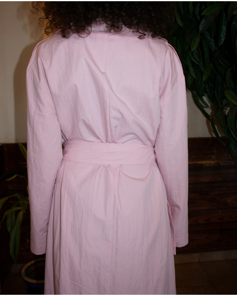 Trench Coat - Pink