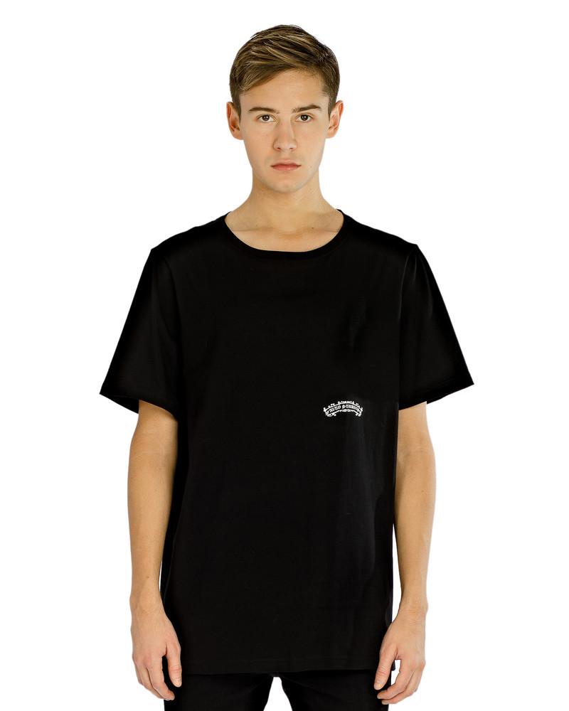 BLACK ARCH LOGO TEE