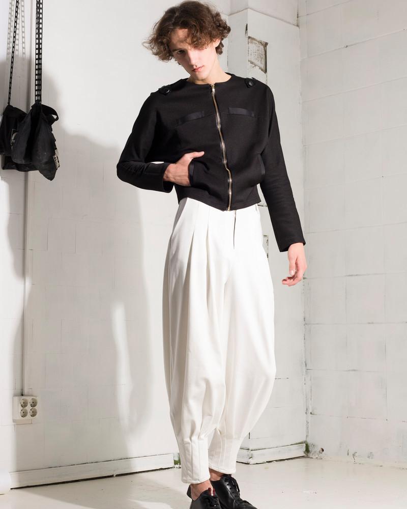 KARIM unisex trousers white