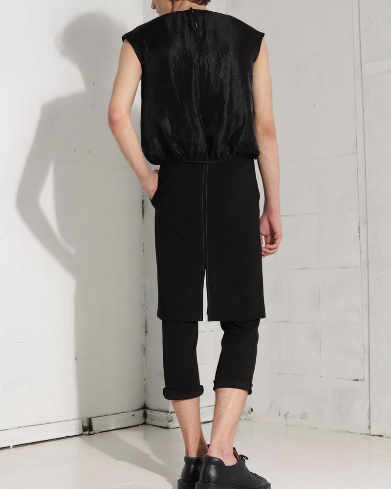 SETTE unisex skirt-trousers crêpe
