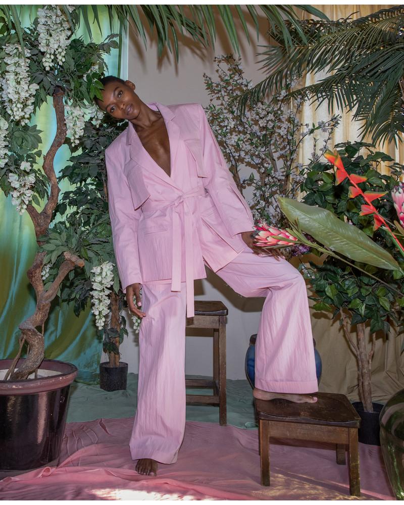 Blazer Suit - Pink