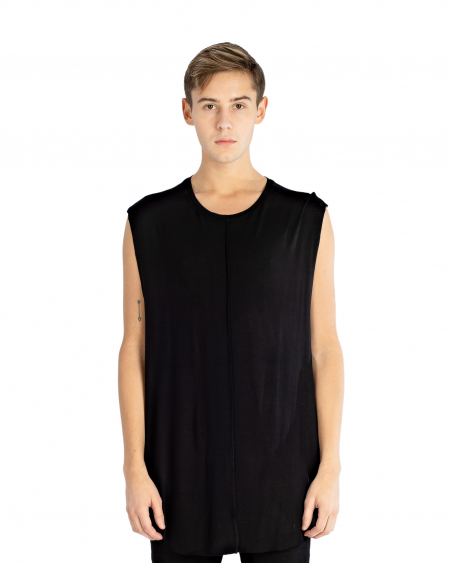 SILKEN SLEEVELESS