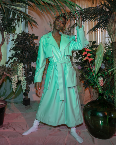 Trench Coat Mint