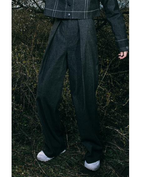 FRONT FOLDED PANTS ''ALJONA''
