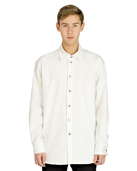 WHITE OVERSHIRT