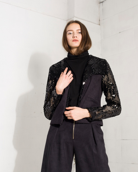 IRIS sequin jacket
