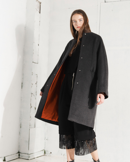 ELLEN unisex coat grey